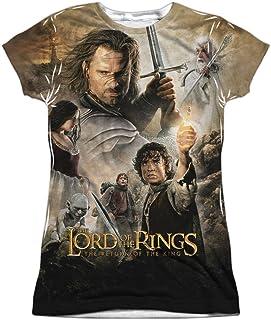De el Señor de los anillos: el retorno del rey Póster de la película Junior 2-Side impresión camiseta T