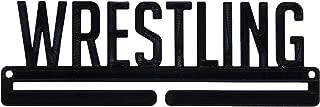 Wrestling Sports Award Medal Display Rack Hanger Holder Organizer for Wall - Wrestling Team Gift