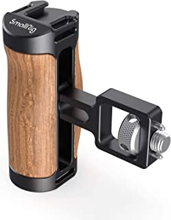 SmallRig Wooden Mini Side Handle with Screw for ARRI-Style Mount - 2914