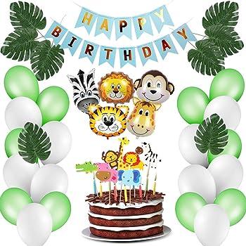 Luftballons Jungen Party Gepunktet Folienballons für Geburtstagsparty