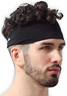 Mens Headband - Sweat Band Workout Head Bands Sports...