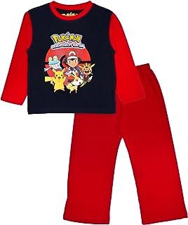 3afe2607d2 Pokémon Ragazzi Pikachu Go Pigiama Lungo Pigiama 2 Pezzi Set Pigiama  Bambini Taglia UK 4 –