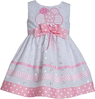 Bonnie Jean Little Girls' Birthday Balloons Dress