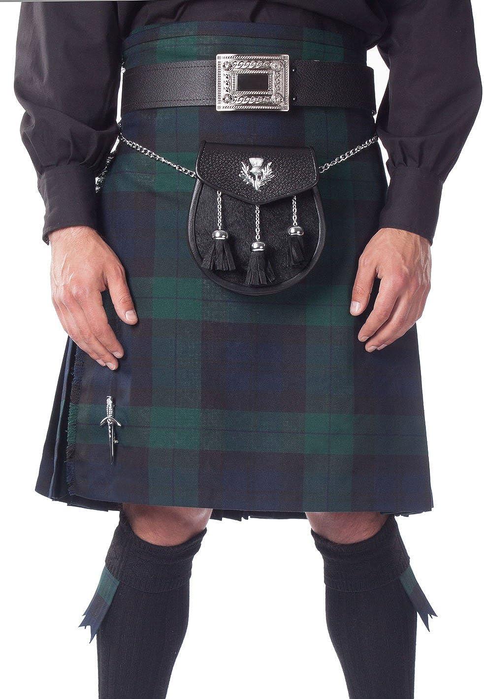 Kilt Society Mens 8 Yard Scottish Super intense SALE Tartan Overseas parallel import regular item