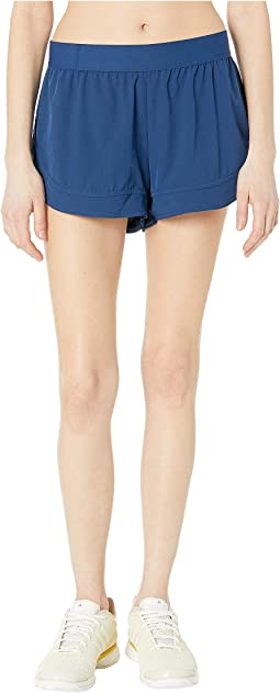 f9c7ef58ad Mystery Blue. 1. adidas by Stella McCartney. Performance Essentials Shorts  DT9336