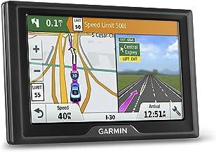 Sistema de navegación GPS Garmin Drive 50 USA LM con mapas de por vida, direcciones de giro y giro habladas, acceso directo, alertas de conductor y datos Foursquare (renovado)