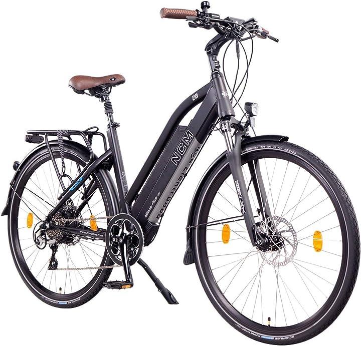 Bicicletta elettrica da trekking, 250w, batteria 48v 16ah 768wh 26