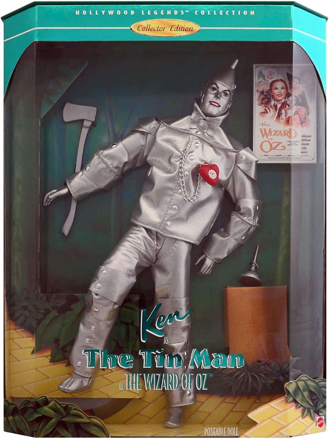 Barbie Ken As The Tin Man, Hollywood Legends, The Wizard Of Oz Collectors Edition