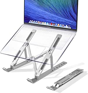 Tycom Portable Laptop Stand, Aluminum Adjustable Stand for iPad, MacBook Pro,Tablets and Laptops, Such as Lenovo ThinkPad,...