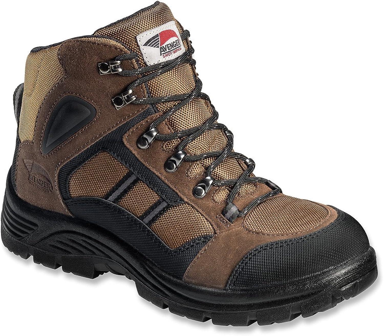 Avenger Safety Footwear Men's 7241 Steel Toe Hiking shoes