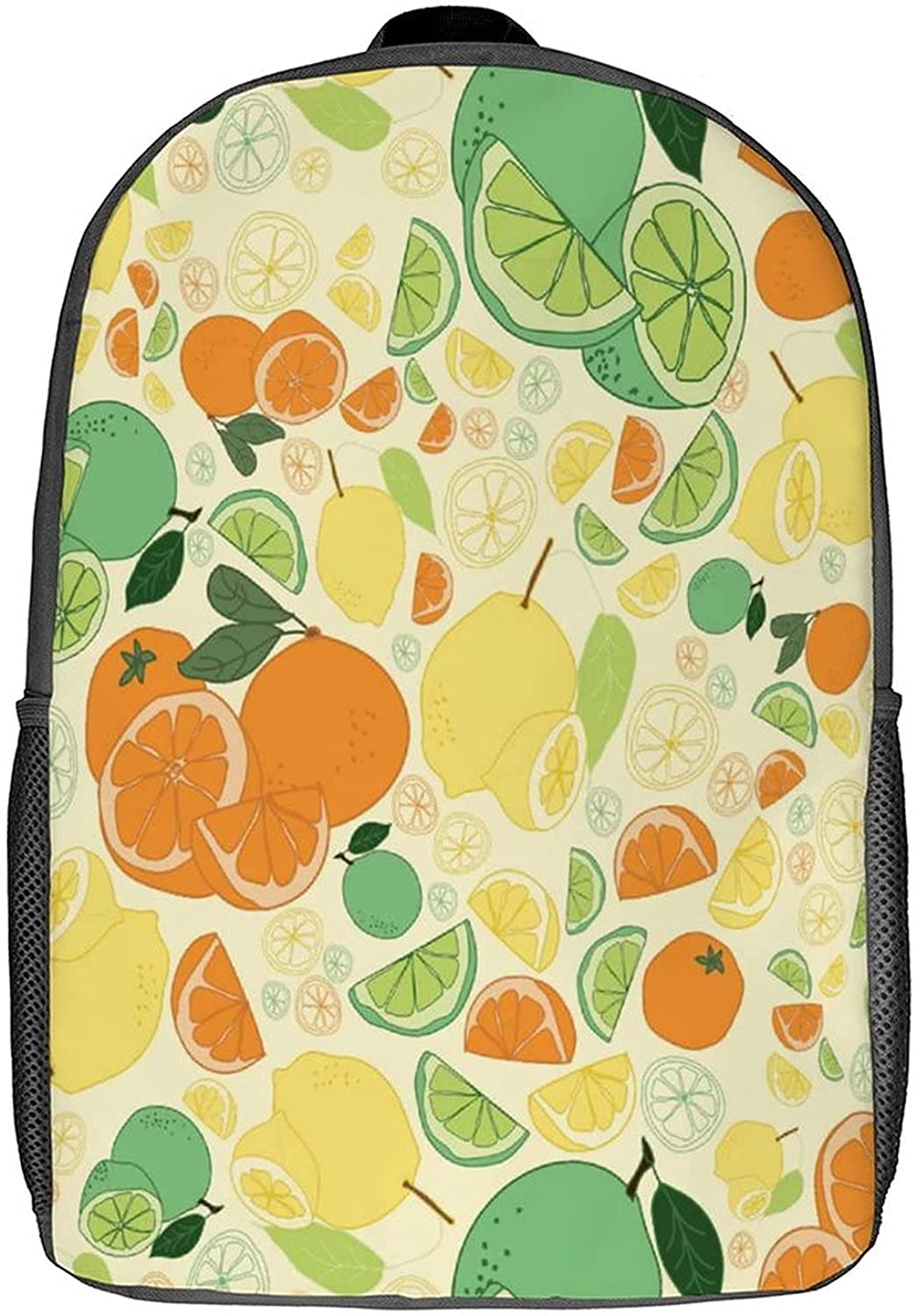 Backpack Fruit 1 Pattern Laptop Customed Oklahoma City Seasonal Wrap Introduction Mall Smal 17inch
