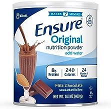 Ensure Original Nutrition Powder with 8g of Protein Per Serving Milk Chocolate 400 g Estimated Price : £ 18,95