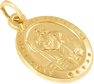 14KT Gold Religious Pendant/Charm for Women – Available in Assorted Shapes and Uplifting Concepts