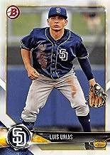 2018 Bowman Baseball Prospects #BP57 Luis Urias Padres