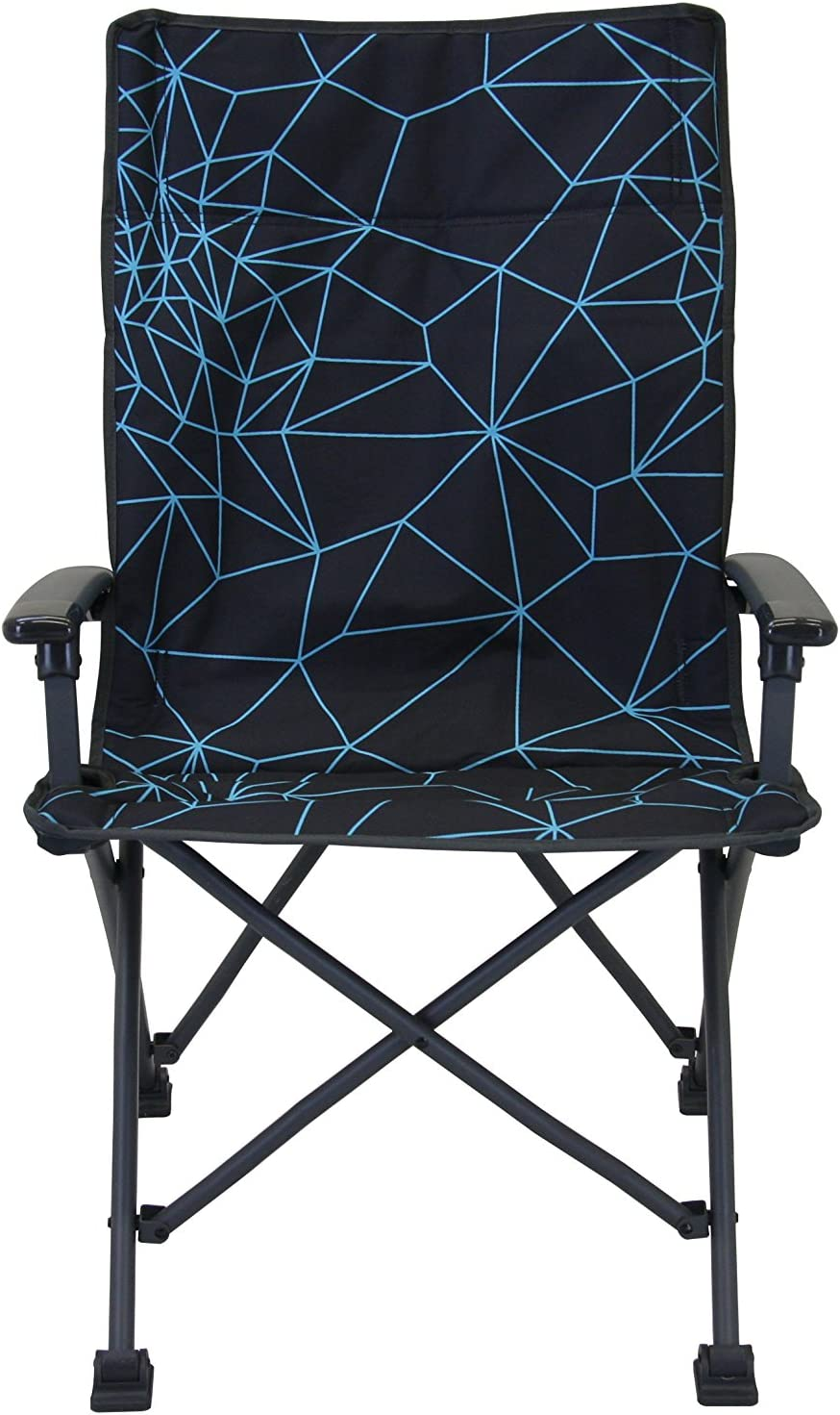 Portal Outdoors Unisex Bilbao Night Foldable Camping Chair us:one Size Grey