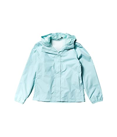 The North Face Kids Resolve Rain Jacket (Little Kids/Big Kids) (Coastal Green) Girl