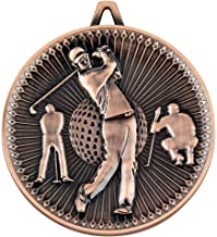 """Lapal Dimension Golf Deluxe Medaille - Brons 2.35"""""""