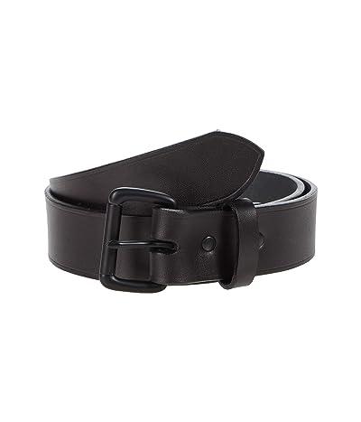 Filson 1-1/2 Leather Belt (Black/Black) Men