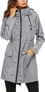 Raincoat Outdoor Women's Lightweight Jackets Waterproof Packable Active Outdoor Rain Jacket