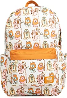 Loungefly Star Wars Pastel Ewok Nylon Backpack