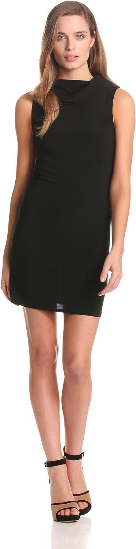 Star Vixen Women's Sleeveless Cowlneck Dress