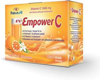 Sponsored Ad - EV-Empower C High Dose Vitamin C 1000mg with 8 B Vitamins and 16 Essential Nutrients for Immunity Support, ...