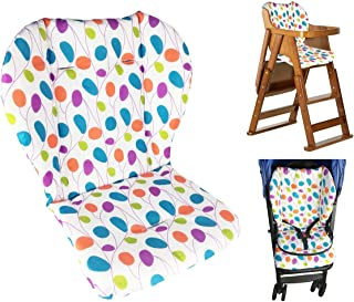 Twoworld Baby Stroller/Car/High Chair Seat Cushion Liner Mat Pad Cover Protector Colorful Willow Leaves