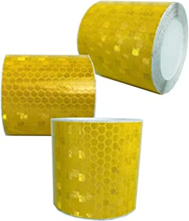VOOFENG Reflective Tape 3 Rolls Safety Warning Tapes 2