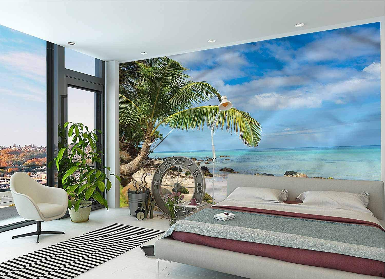 IRONANDGCFOXBOX Beach Large Wall Romantic Mural online shopping Coastline Scener Ranking TOP19