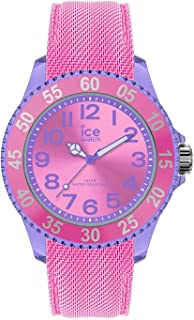 Ice-Watch - Ice Cartoon Dolly - Montre Rose pour Fille avec Bracelet en Silicone - 017729 (Small)