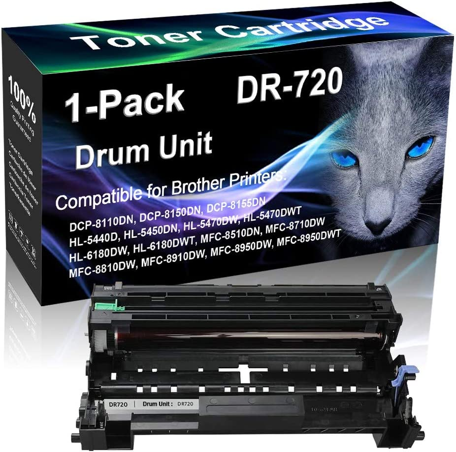 1-Pack Black Compatible Max 67% OFF DR720 DR-720 shopping use Brot Drum Imaging for