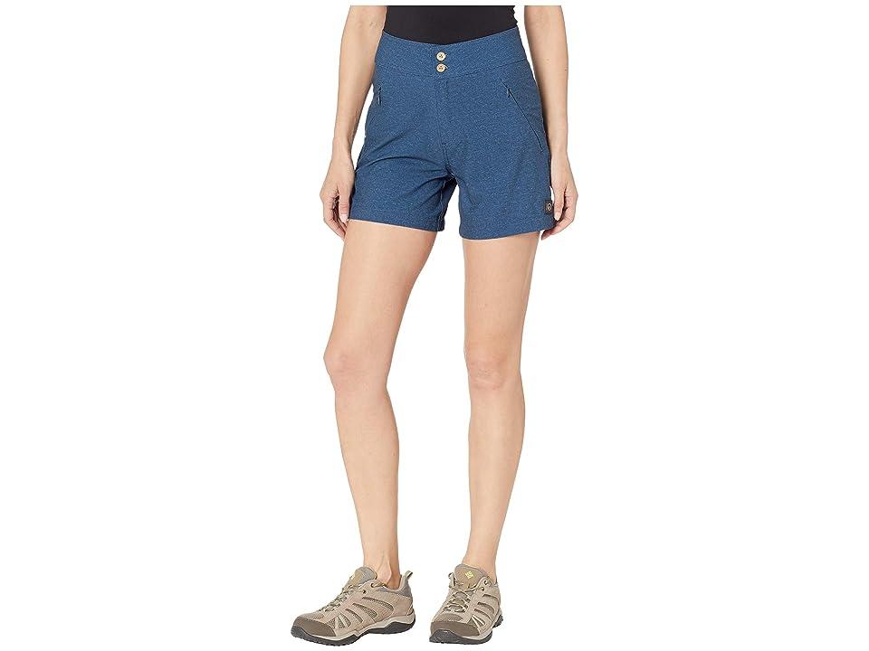 tentree Destination Shorts (Dark Denim) Women