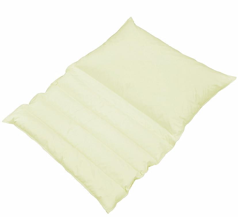 先祖強打ご近所ボーマ(BOMA) 折り重ね枕 ホテル旅館で大人気 ホワイト枕カバー付