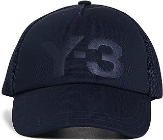 Y-3 Mens Trucker Cap in Navy