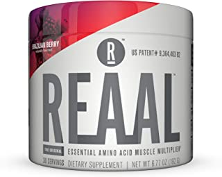 REAAL - REAAL Brazilian Berry Powder, Helps Build, Restore, and Maintain Lean Muscle with Essential Amino Acids, Gluten Fr...