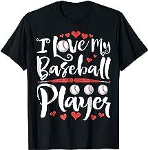 I Love My Baseball Player T shirt Proud Mom Mother Women Men