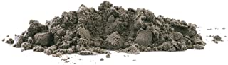 Teton-Black (180 MESH) Foundry Green Sand Olivine Super-Fine Facing Sand for Metal Casting (17.5LB/8KG)