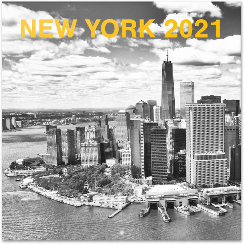 Erik Wandkalender New York Kalender 2021 f/ür 16 Monate