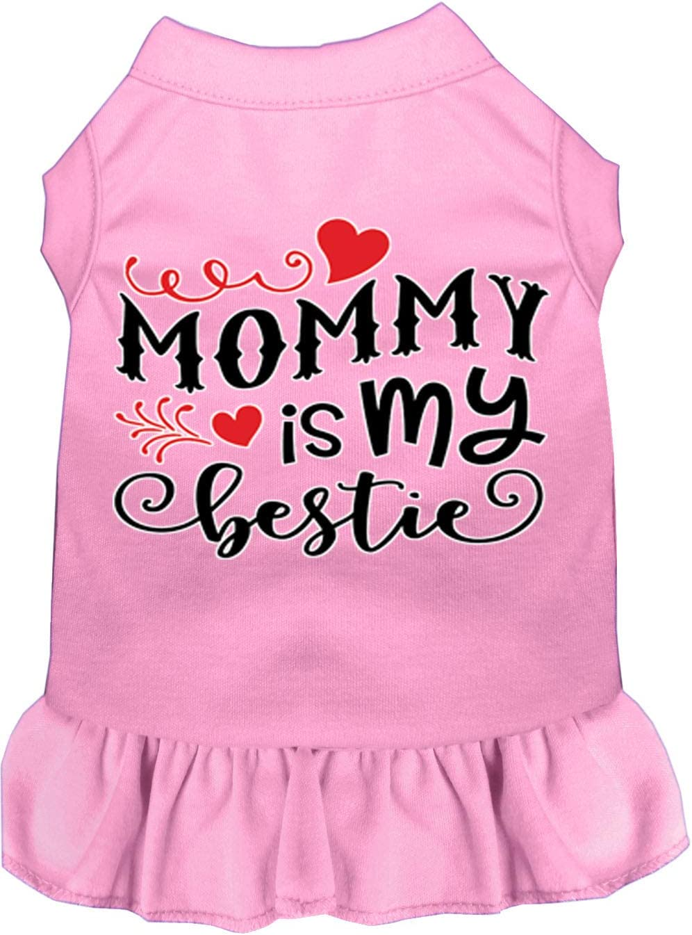 Mirage Pet Product Mommy is Large special price !! My Screen Branded goods Dog Print Lig Dress Bestie