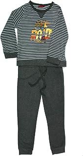 112-1120cm Tallas de la S a la XXXXXL XX-Large Chest 44-47 - Azul Marino Pijama de Invierno para Hombre con Camiseta y Pantalones s/úpersuaves de Tela Polar con Estampado fantas/ía