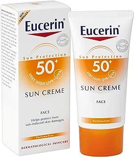 Eucerin SPF50+ SUN CREME VERY HIGH UVB+UVA Sun Protection Face 50ml.