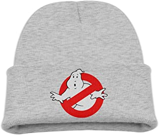 Youth Boys Knit Hat Hipster Beanie Winter Ghost Busters Logo Ski Hat Knit Hat Hats for Women