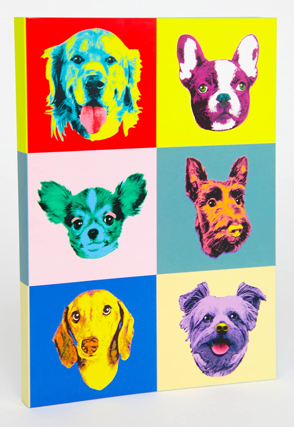 Fringe Studio Andy犬Softcoverジャーナル日記ノートブック、160裏地ページ、5?x 7インチ