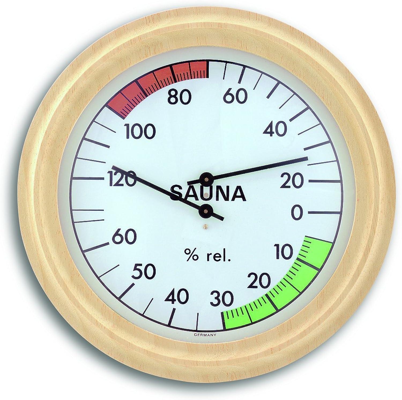 TFA-Dostmann Sauna Thermo-Hygrometer 40,1006, synthetic hair