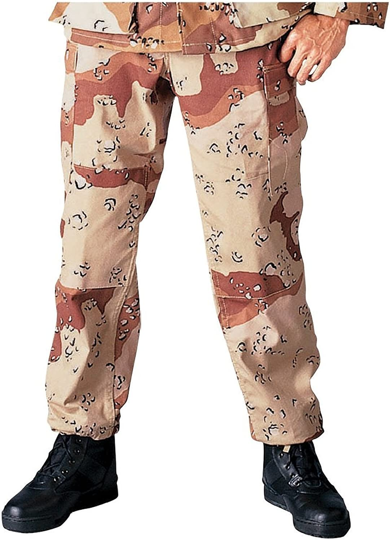 Size LARGE REGULAR BDU Coat Desert Camouflage 3 Color Military Field Jacket