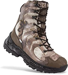 Buck Shadow Men's Hunting Boots, A-Tacs AU, 400g Insulation, Size 10.5 - Camo Hunting Boots