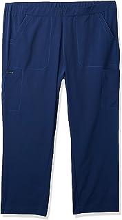 WonderWink Women's Hp Plus Size Trouser Scrub Pant Petite