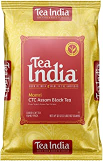Tea India CTC CTC2LB Assam Loose Black Tea, 2lbs. Packaging May Vary.