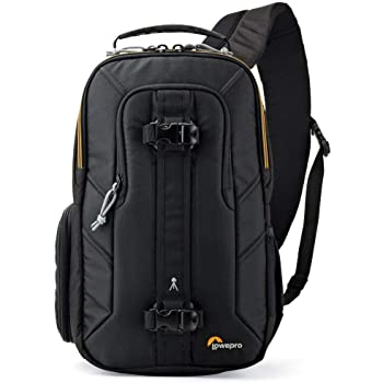 Lowepro Slingshot Edge 150 AW - A Secure, Slim, Smart and Protective Camera Sling for a Mirrorless Kit and Small Tablet, Black