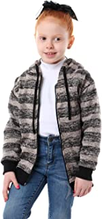 Kady Striped Zipped Sweatshirt For Unisex
